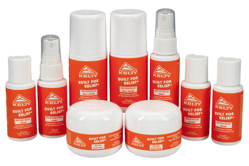 Family of Kelty CBD products