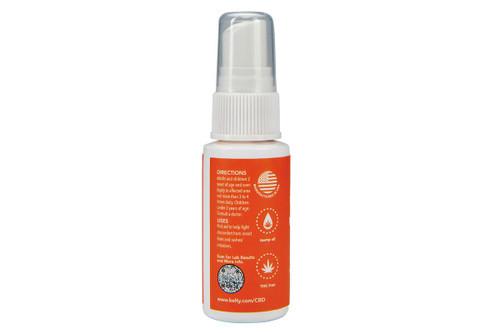 Kelty CBD Itch Relief Spray, rear view