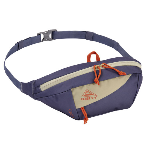 Grisaille/Elm - Kelty Giddy 3L waistpack, front view