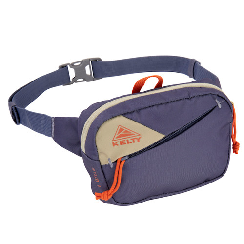 Grisaille/Elm  - Kelty Stub 1L waist pack, front view