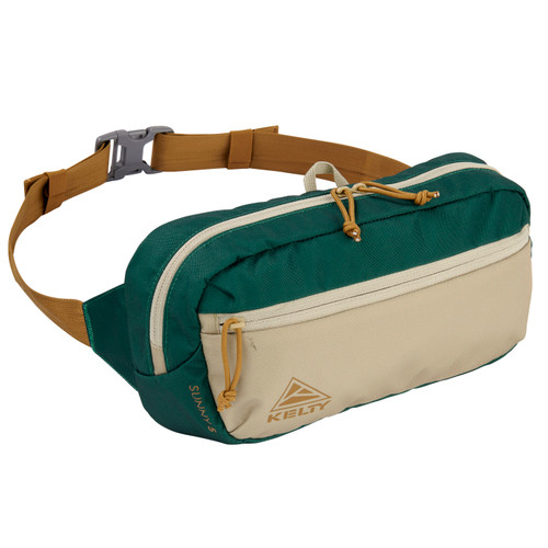 Posey Green/Elm - Kelty Sunny 5L waistpack, front view