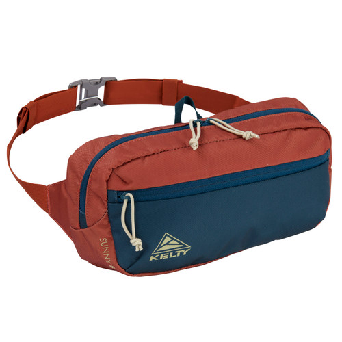 Gingerbread/Reflecting Pond - Kelty Sunny 5L waistpack, front view
