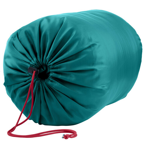 Kelty Mistral Kids 20 Sleeping Bag, Deep Lake/Huckleberry stuff sack
