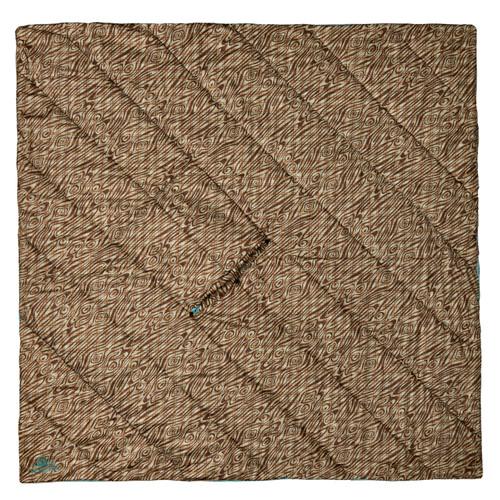 Trellis/Backcountry Plaid - Kelty Hoodligan Blanket, with hood showing