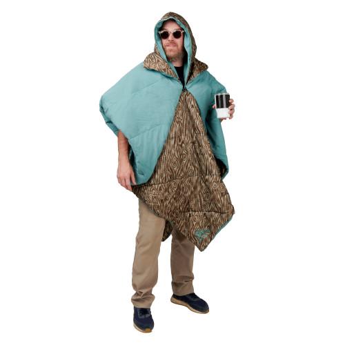 Kelty Hoodligan Blanket, Trellis/Backcountry Plaid