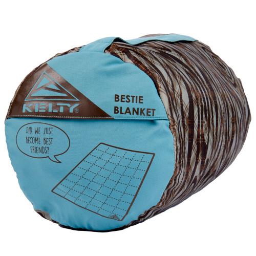 Kelty Bestie Blanket Trellis/Backcountry Plaid stuff sack
