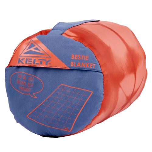 Kelty Bestie Blanket Grisaille/Kaleidoscope stuff sack
