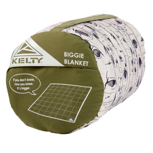 Kelty Biggie Blanket Winter Moss/Aspen Eyes stuff sack