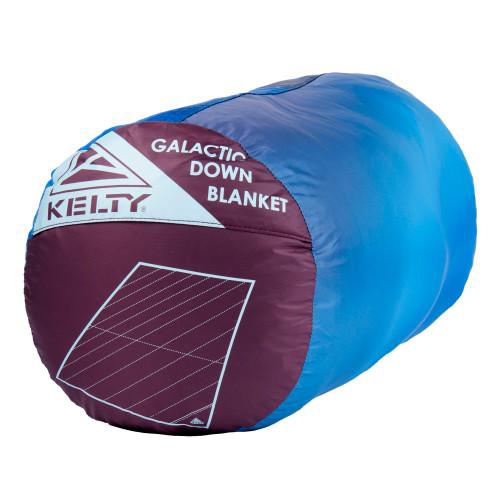 Kelty Galactic Down Blanket Grisaille/Atmosphere stuff sack
