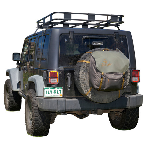 Kelty Trash Pak - shown mounted on Jeep