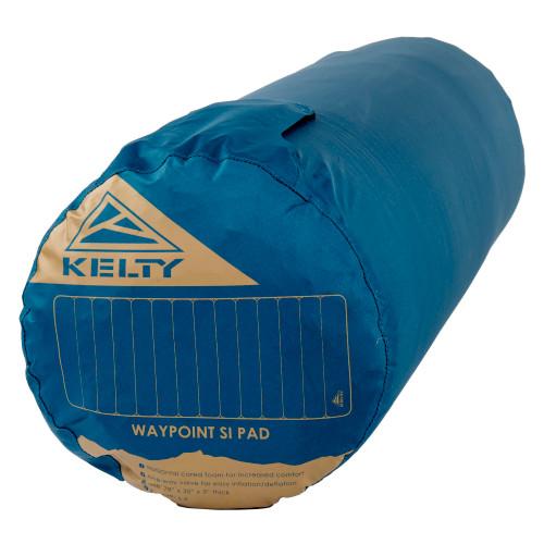 Kelty Waypoint Si Sleeping Pad, shown stuffed inside sack