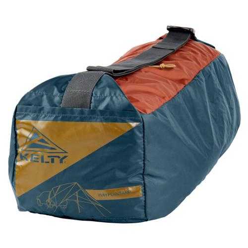 Kelty Waypoint Tarp, shown packed inside storage bag