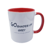 60 Shades of Grey Mug - Red