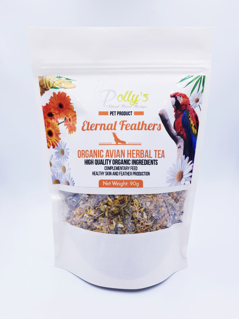 Eternal Feather Organic Parrot Tea