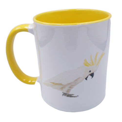 Cockatoo Mug - Yellow
