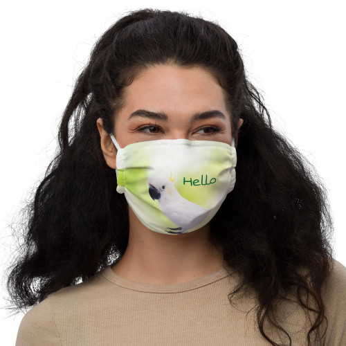 Polly's Hello - Face Mask