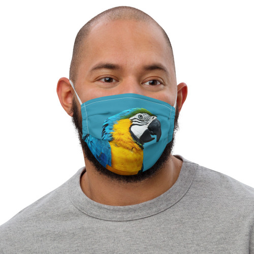 Macaw Face Mask