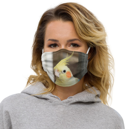 Cockatiel - Face mask
