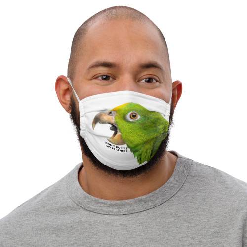 Amazon - Don't ruffle my feathers - Face Mask