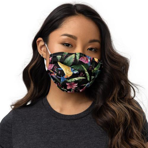 Parrot Face Mask