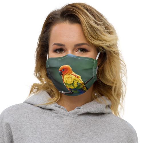 Sun Conure - Face Mask