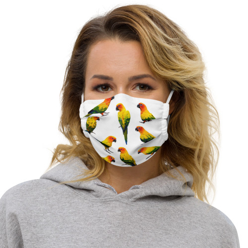 Sun Conures - Face Mask