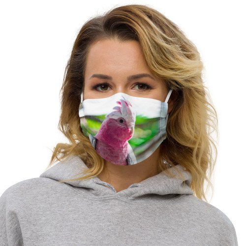 Galah Cockatoo - Face Mask