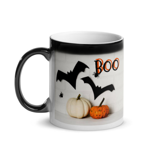 Glossy Cockatiel 2 Halloween Magic Mug