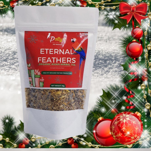 Christmas - Eternal Feathers Organic Parrot Tea 40g