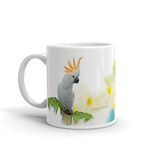 Cockatoo Easter Mug
