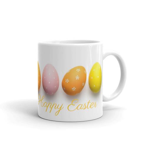 Easter Eggs Parrot Mug