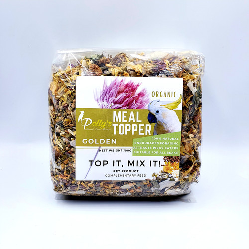 Polly's Meal Topper - golden