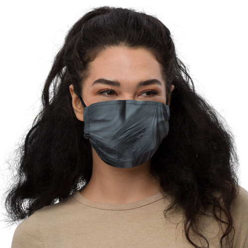 Black Feather Premium Face Mask
