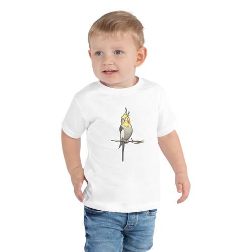Toddler Short Sleeve Cockatiel Tee