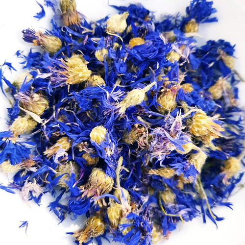 Organic Whole Blue Cornflowers
