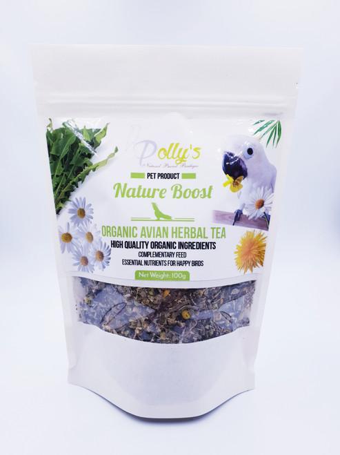 Nature Boost Organic Tea For Parrots