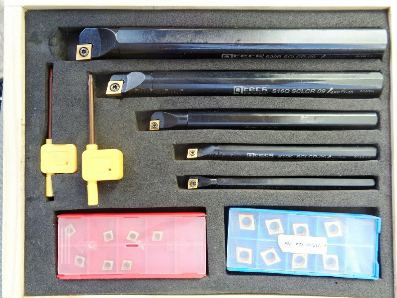 Carbide Insert Boring Bar Kit - From 8mm to 20mm OD