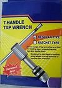 Precision T handle Tap Wrench with Removeable Jaws 1//16-5//32 Threading