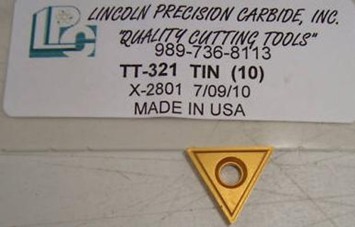 tt321 tt-321 gold triangle insert tt322