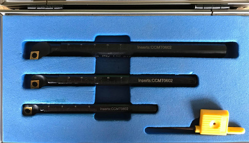 Carbide Insert Aprica Boring Bar Kits - From 8mm to 20mm