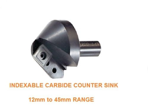 Indexable Carbide Insert Counter Sinks [60 Degree]