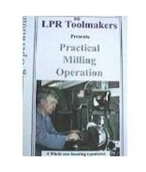 MILLING MACHINE OPERATIONS FOR LEARNER ON DVD