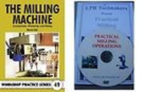 LEARN TO USE A MILL ON DVD & BOOK DEAL