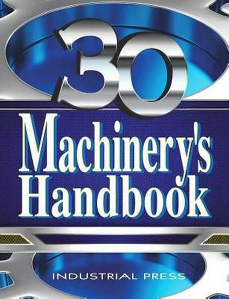 Machinery's Handbook 30th Tool Box Edition 2016 NEWEST Version