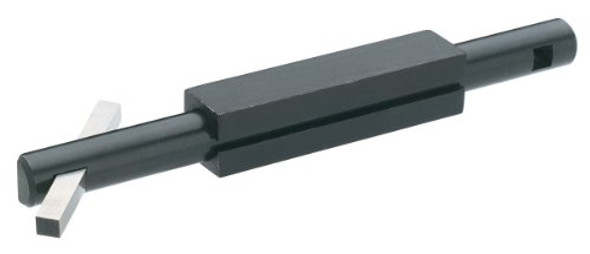 double ended boring bar with high speed steel