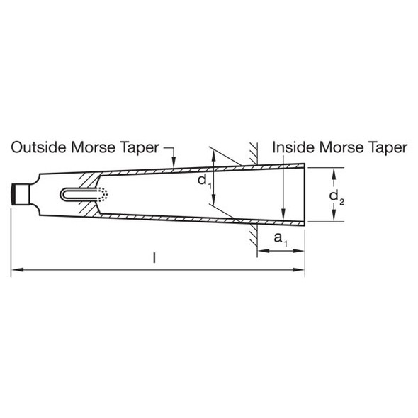 Morse Taper Drill Sleeves (Hardened and Ground)