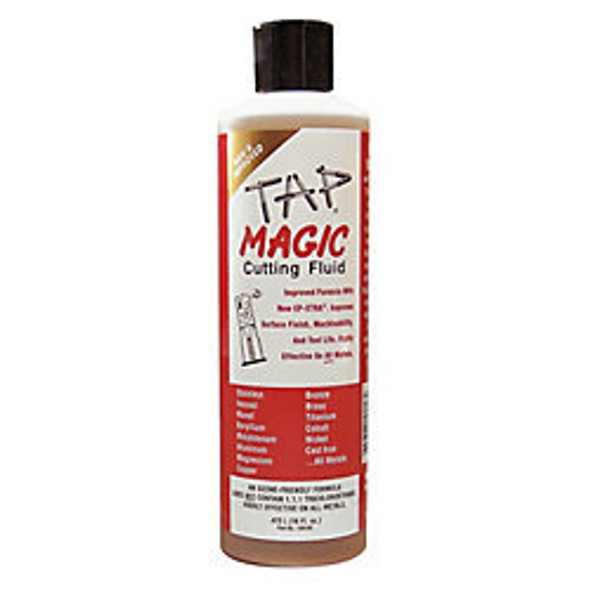 Tap Magic - Cutting / Tapping Fluid (16 Ounce Bottle)