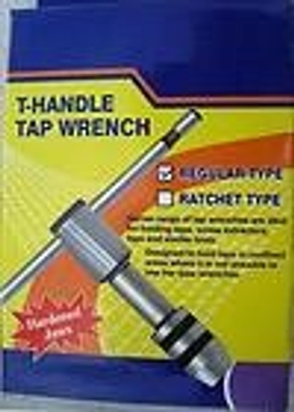 TAP WRENCH tap handle T wrench Tap Holder 1/16 to 5/32 1.5 to 4mm