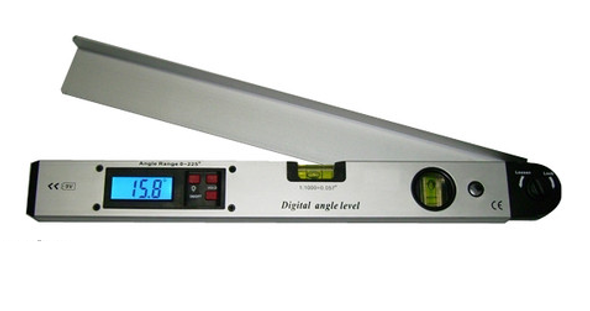 """Digital Angle level 16""""/400mm 0-225dec includes vertical and Horizontal bubble"""