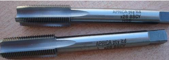 """Cycle HSS Tap Set (2pc) -  [Sizes From 1/4"""" to 1/2""""] Aprica Brand"""
